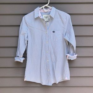 NWOT Abercrombie & Fitch button up shirt blouse